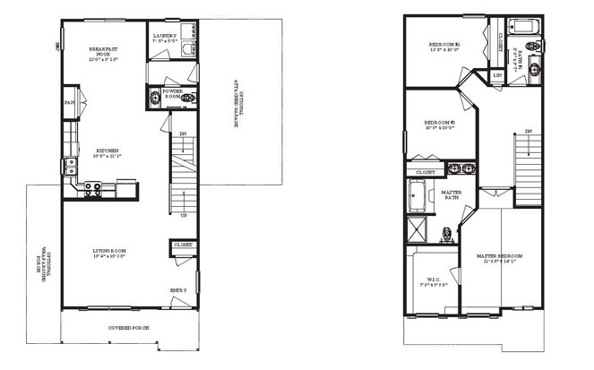 Narrow lot series condor House floor plans narrow lot