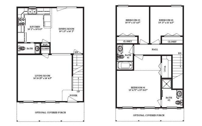 Modular Home Narrow Modular Home Floor Plans