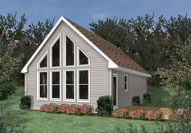 Vacation series alpine chalet for Alpine house plans