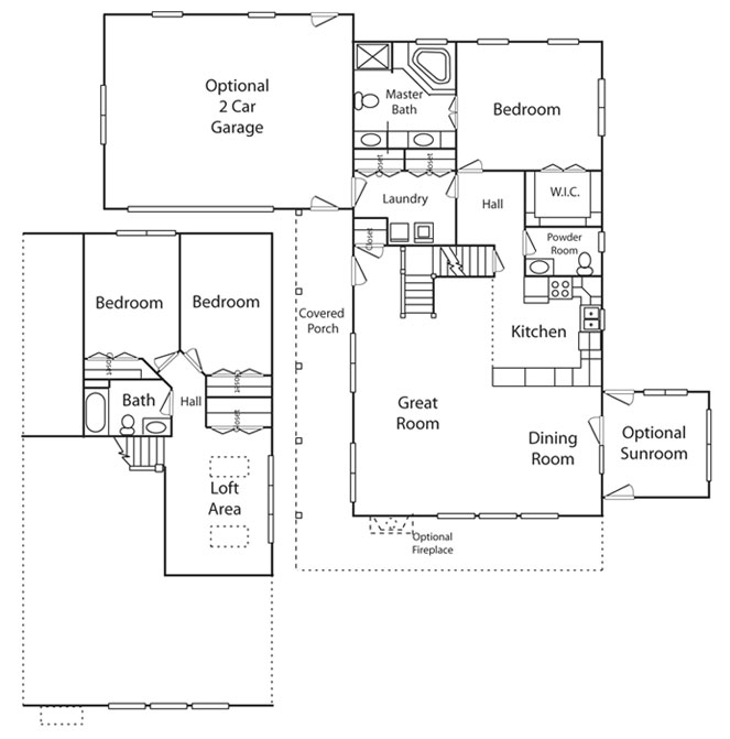 Vacation series chalet retreat for The retreat floor plans