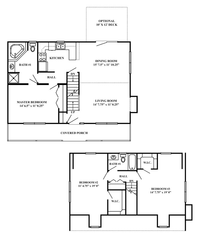 Small vacation homes plans joy studio design gallery for Small vacation home floor plans