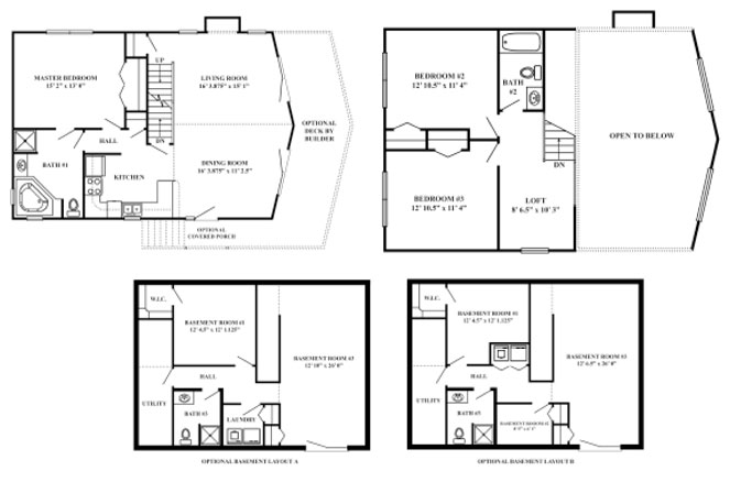 Vacation series the summit for Summit homes floor plans